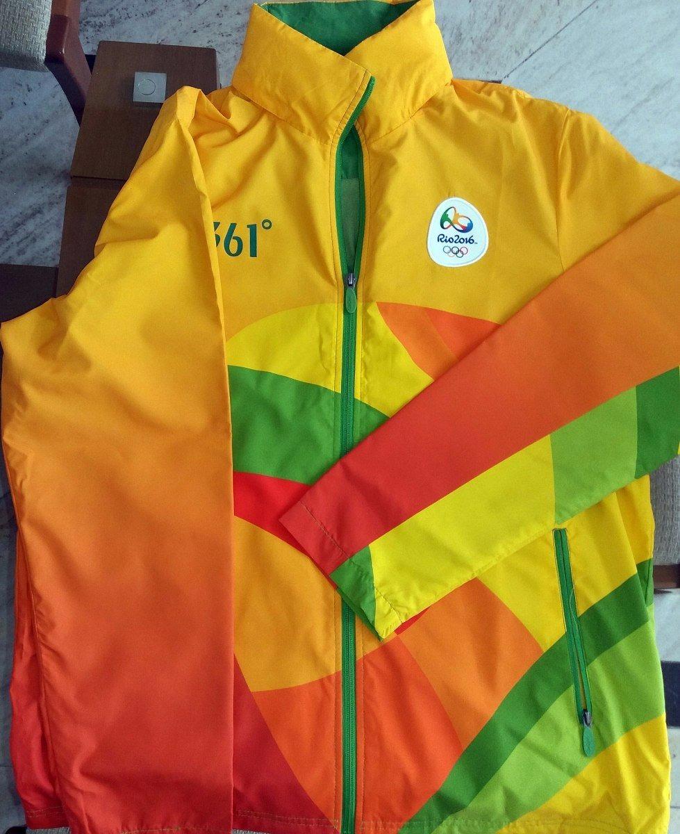 jaqueta uniforme de árbitros técnico olimpíada 2016 - tam. g. Carregando  zoom. 807c7c51fa72a
