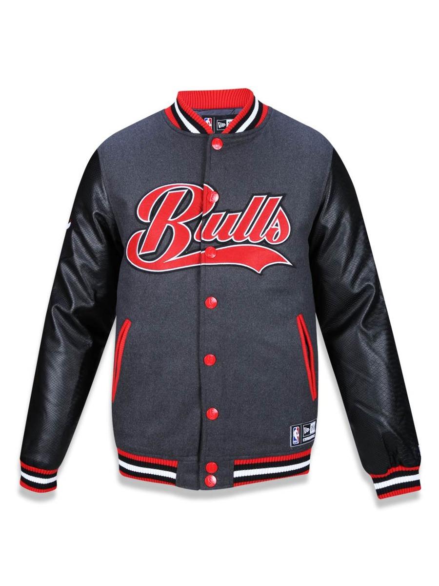 858c124825 jaqueta varsity chicago bulls nba new era 37835. Carregando zoom.