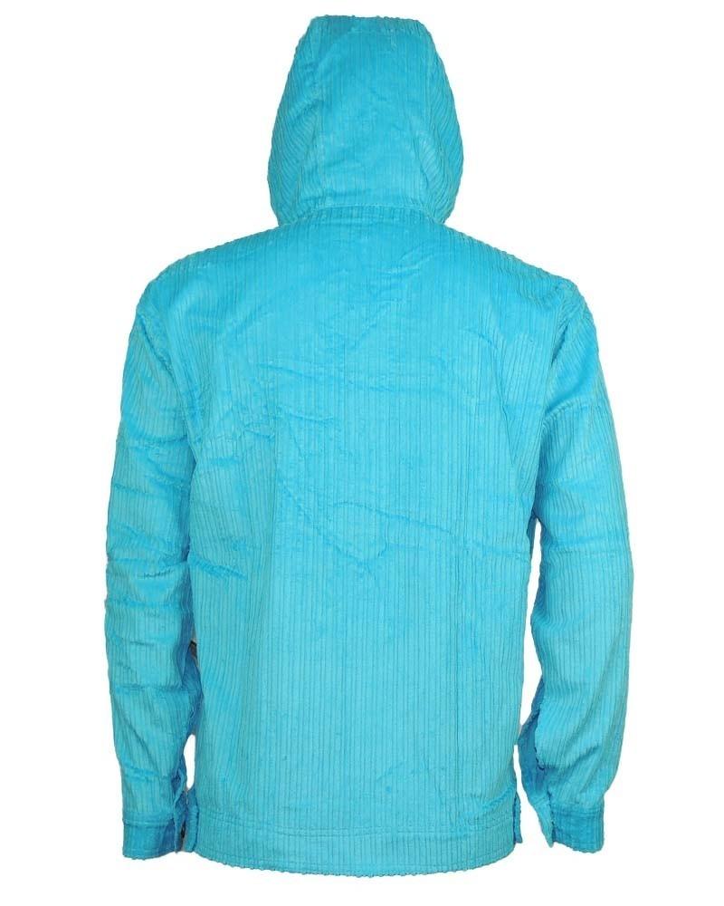 Jaqueta Veludo Cyclone Relax Color Azul - R  440,00 em Mercado Livre ed4e0f7acf