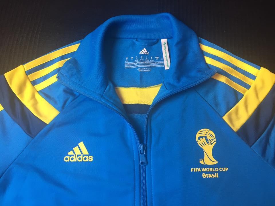 jaqueta voluntários fifa world cup brasil 2014 tam p (65x46). Carregando  zoom. a9383e2a93e