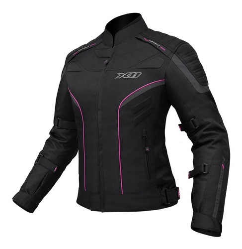 jaqueta x11 iron2 feminina motoqueiro moto  motociclista