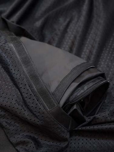 jaqueta x11 summer preta - ventilada e impermeável - tam p