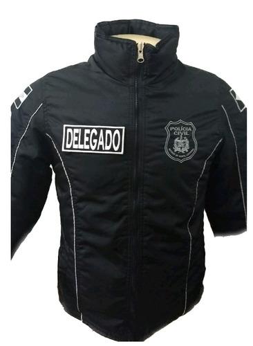 jaqueta/blusa tática polícia cívil - santa catarina