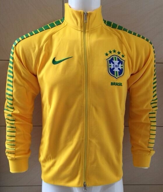 818feb7cb8199 Jaqueta blusa agasalho Brasil 2016 2017 - Frete Grátis - R  179