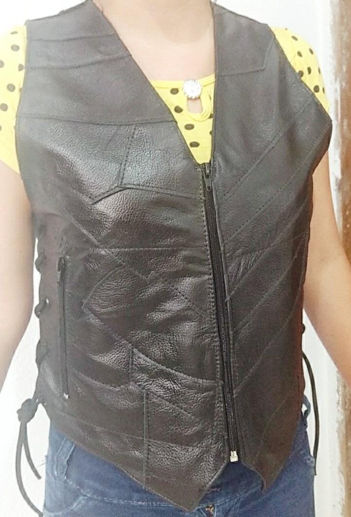 c37e3fd8b jaqueta/colete feminino em retalhos de couro/eg/plus size. Carregando zoom.