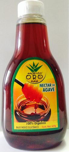 jarabe miel de agave 12 botellas  de 360 gr  de exportacion