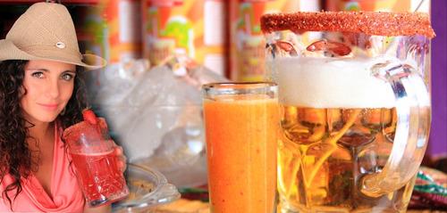 jarabes de sabores para  micheladas en garrafa de 5 lt