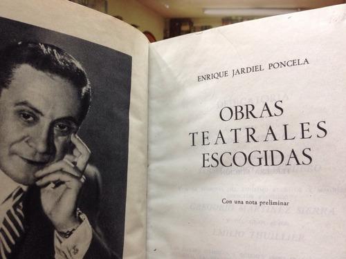 jardiel poncela - obras teatrales - escogidas - aguilar joya