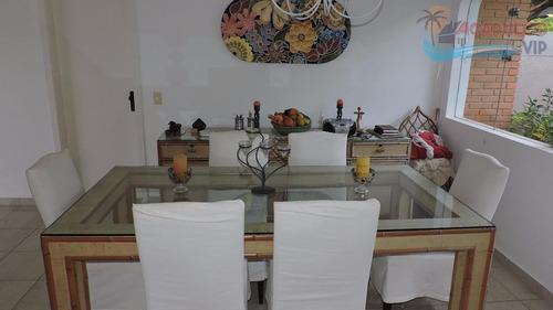 jardim acapulco - 04 stes - piscina - ar condicionado - codigo: ca0086 - ca0086