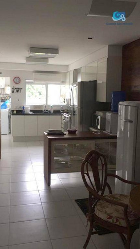 jardim acapulco casa para venda e locação - condomínio jardim acapulco - praia de pernambuco - guarujá - ca1800