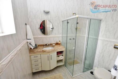jardim acapulco - guarujá - 2.000 - decorada - 06 suites - ca0214
