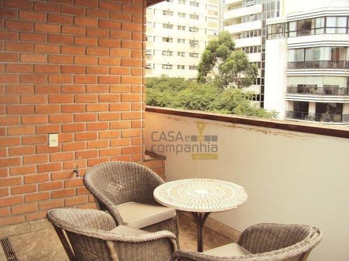 jardim américa, 360 m², 4 suítes 4 vagas! - ap5368