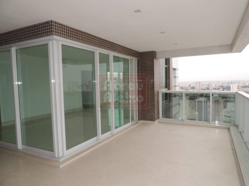 jardim analia franco - cobertura duplex nova,   4 suites (1 master ), com 381 m² úteis + 5 vagas + deposito individual, - 878