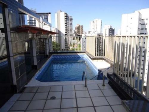 jardim apipema  cobertura triplex 242 m² - tsl030 - 3054802