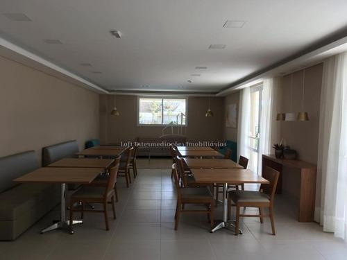 jardim chapadão mobiliado 2 dormitórios 1 suíte varanda 2 vagas lazer completo - ap00194 - 33961574