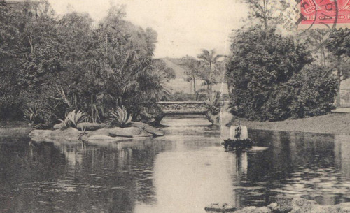 jardim da praça da república - rio de janeiro