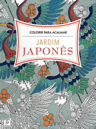 jardim japonês livro colorir idéias pintar bordar estampar