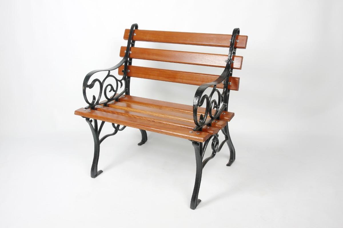 Conjunto Francês Jardim Madeira Ferro Fundido 3 Banco 1 Mesa R$ 898  #B0531A 1200x800