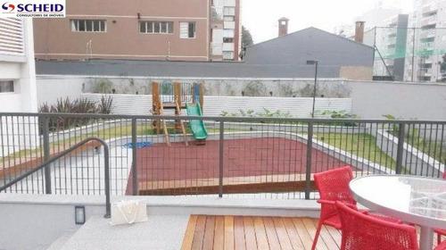 jardim prudência: apartamento com 61 m² com 2 dormitórios sendo 1 suíte, 2 vagas. - mc3236