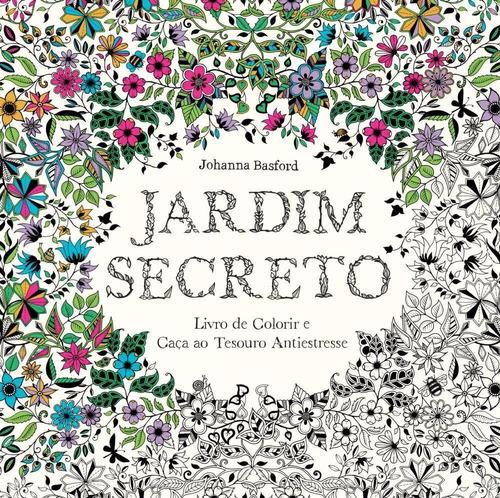 jardim secreto  livro de colorir e caça ao tesouro antie