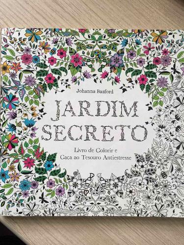 jardim secreto- livro de colorir e caça ao tesouro antiestre