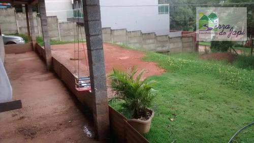 jardim tarantela - chácara à venda ou permuta com casa ou apto, 1500 m² por r$ 380.000 - jardim tarantela - jundiaí/sp - ch0124