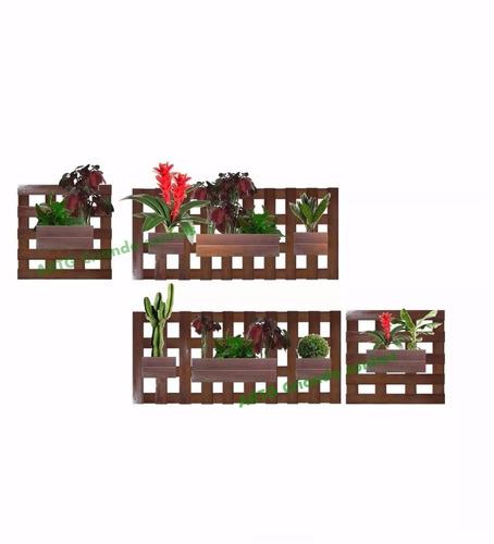jardim vertical 8 cachepôs