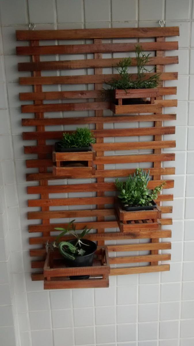 jardim vertical floreira madeira 100 x 60 10x s juros r 119 90 em mercado livre. Black Bedroom Furniture Sets. Home Design Ideas