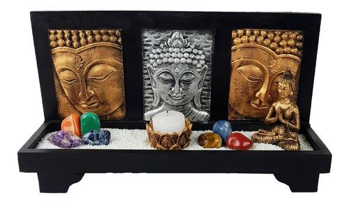 jardim zen altar buda hindu porta vela chakras nirvana yoga