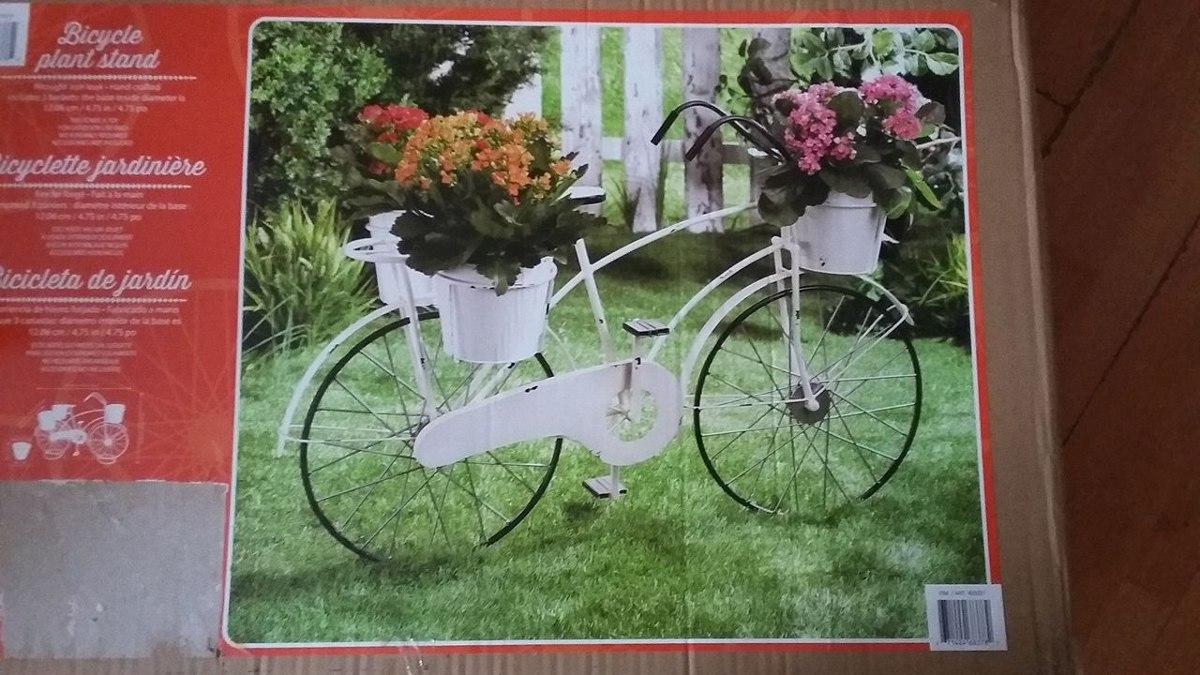 Jardin bici retro decoracion macetero exterior - Decoracion jardin exterior ...