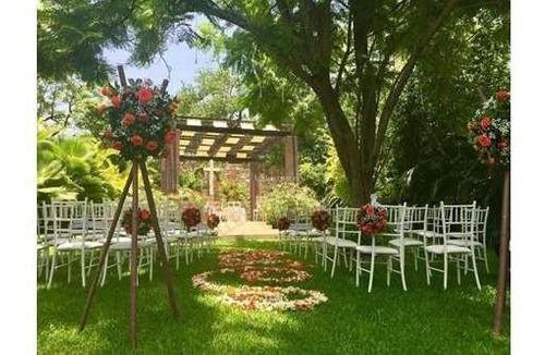 jardín de eventos (para bodas o eventos en general)