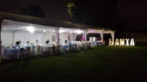 jardín de eventos sociales