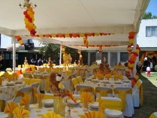 jardin de fiestas en coyoacan.