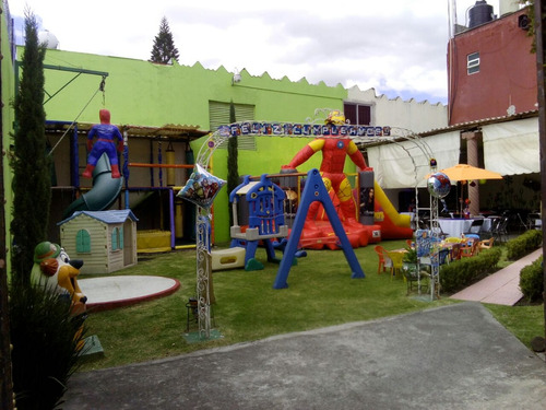jardin de fiestas en la colonia la paz