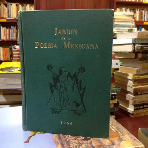 jardín de la poesía mexicana. editorial casas.