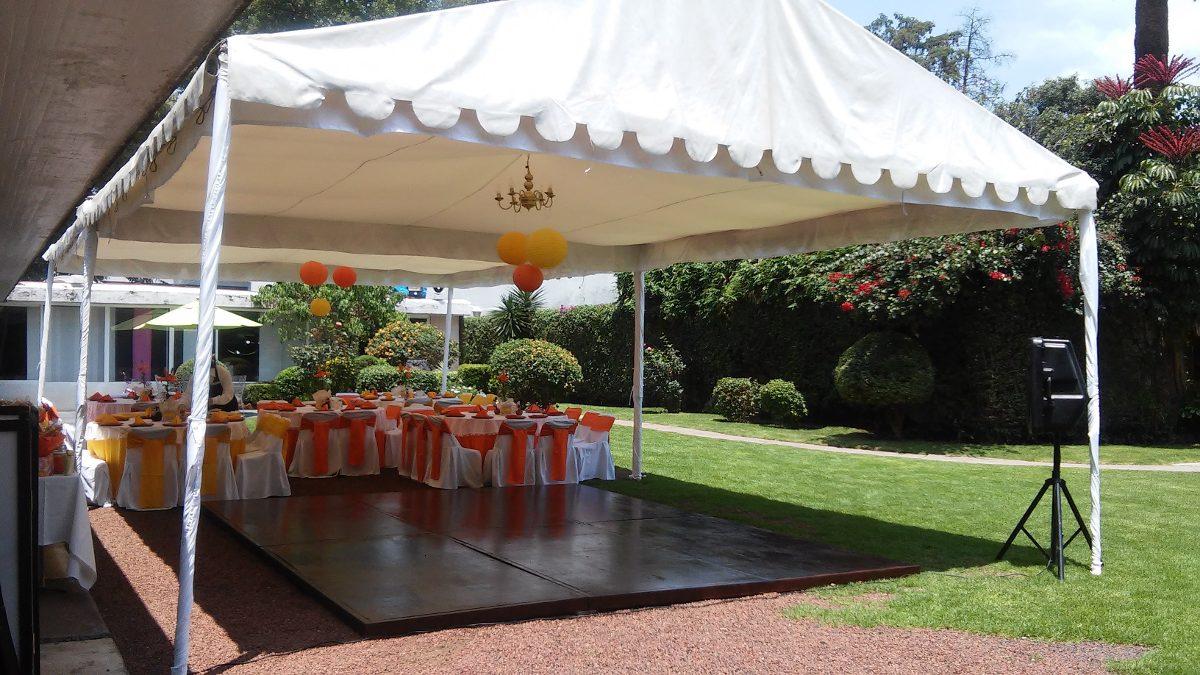 Jard n en coyoacan para eventos sociales en mercado libre for Casa con jardin alquiler