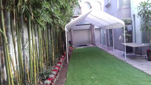 jardin o salones en condesa, narvarte y roma
