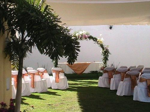 jardin palmas lindo lugar cuautitlan izcalli con cascada