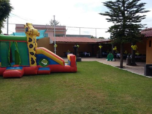 jardín para eventos el tejabán - salón de fiestas