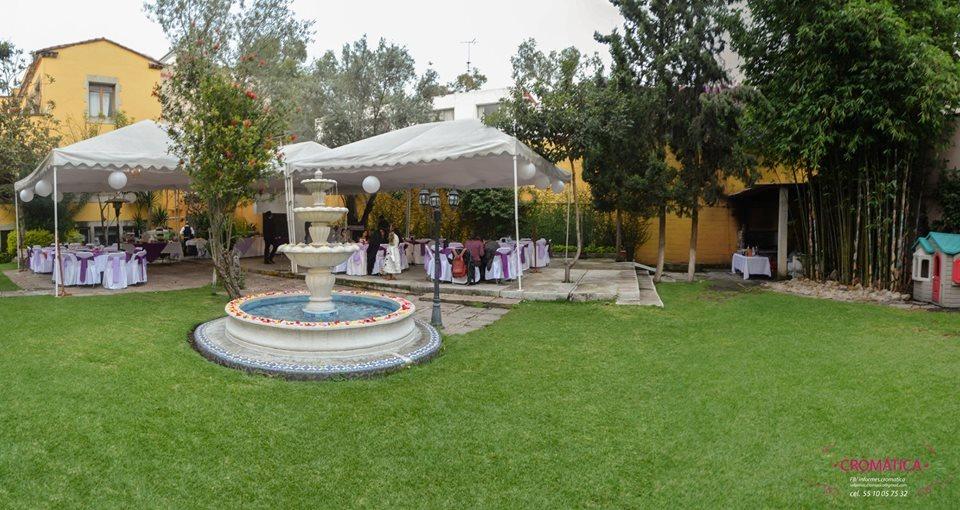 Jardin para fiestas coyoac n country club mex d f en - Jardines decorados para fiestas ...