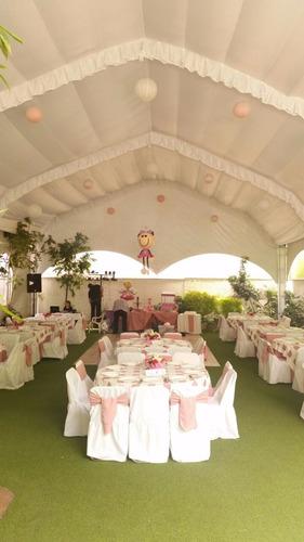 jardin para todo tipo de eventos sociales y empresariales