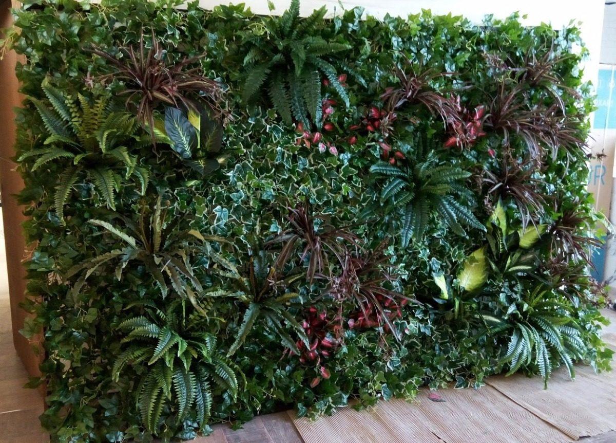 Muro verde artificial muro verde vertical artificial for Jardin vertical artificial