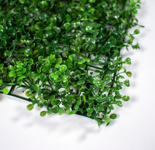 jardin vertical artificial muro verde panel 40x60