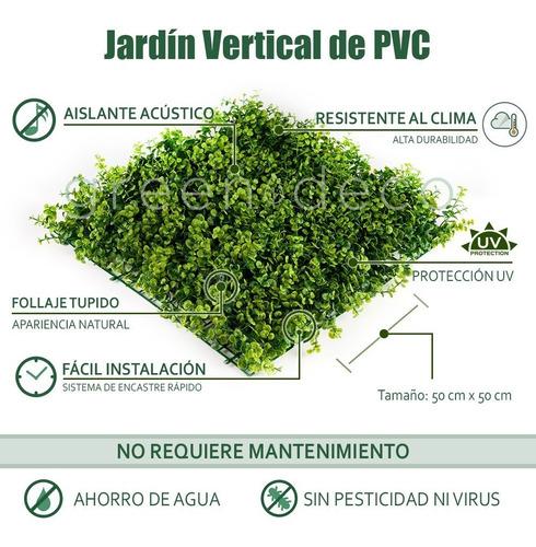 jardin vertical artificial muro verde panel londres m2