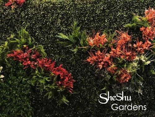 jardin vertical artificial panel cesped muro el mejor!!!