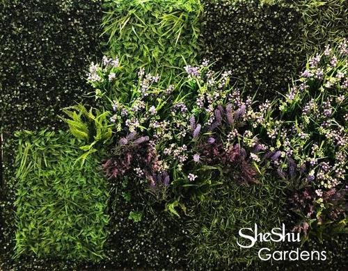 jardin vertical artificial panel cesped packx10 premium full