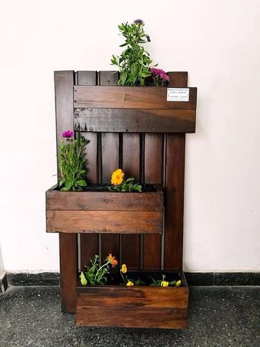 jardin vertical en madera dura para exterior/interior