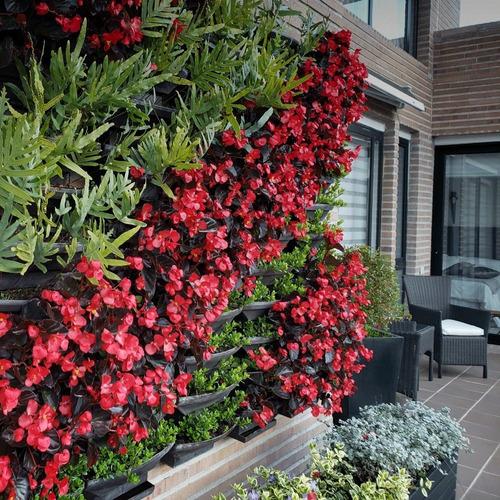 jardín vertical kit por 5 materas. estra - groncol