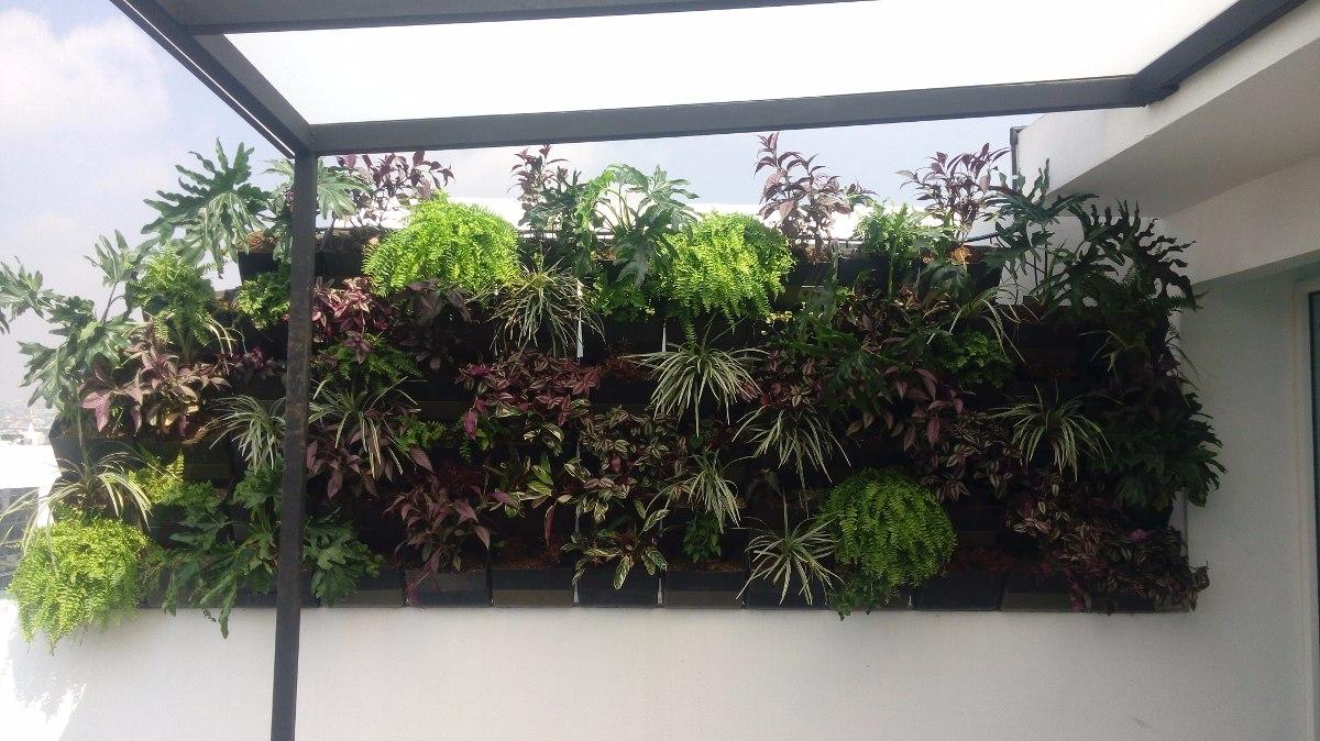 jard n vertical muro verde huerto vertical fachada