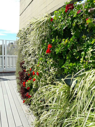 jardín vertical vivo muro verde pared verde natural